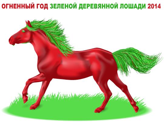 Огненный год Зелёной Деревянной Лошади 2014. Интерактивный астрологический прогноз