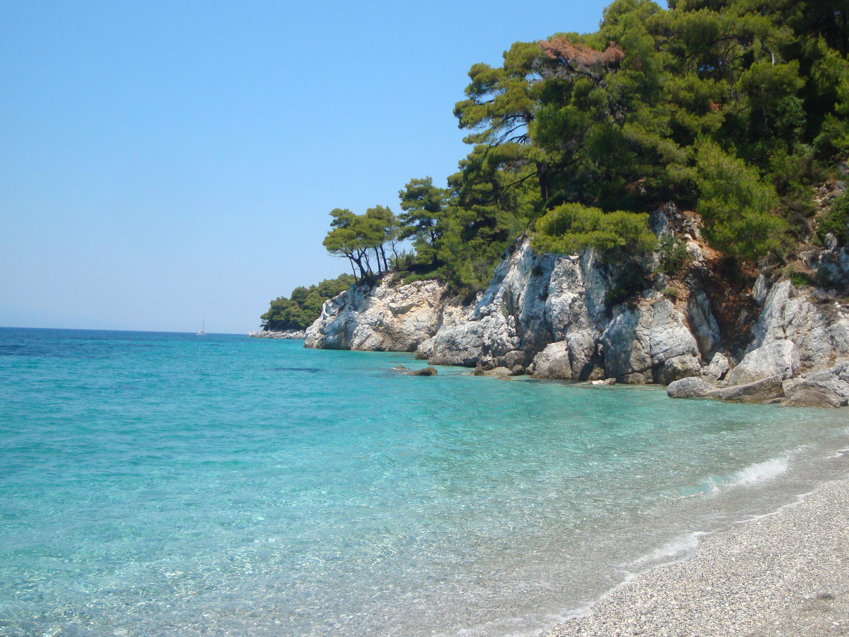22. Пляж Кастани (Καστάνη) -