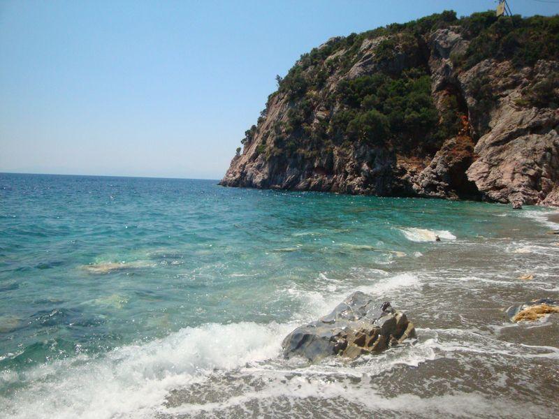 046. Дикий и прекрасный пляж Веланьо - Βελανιό