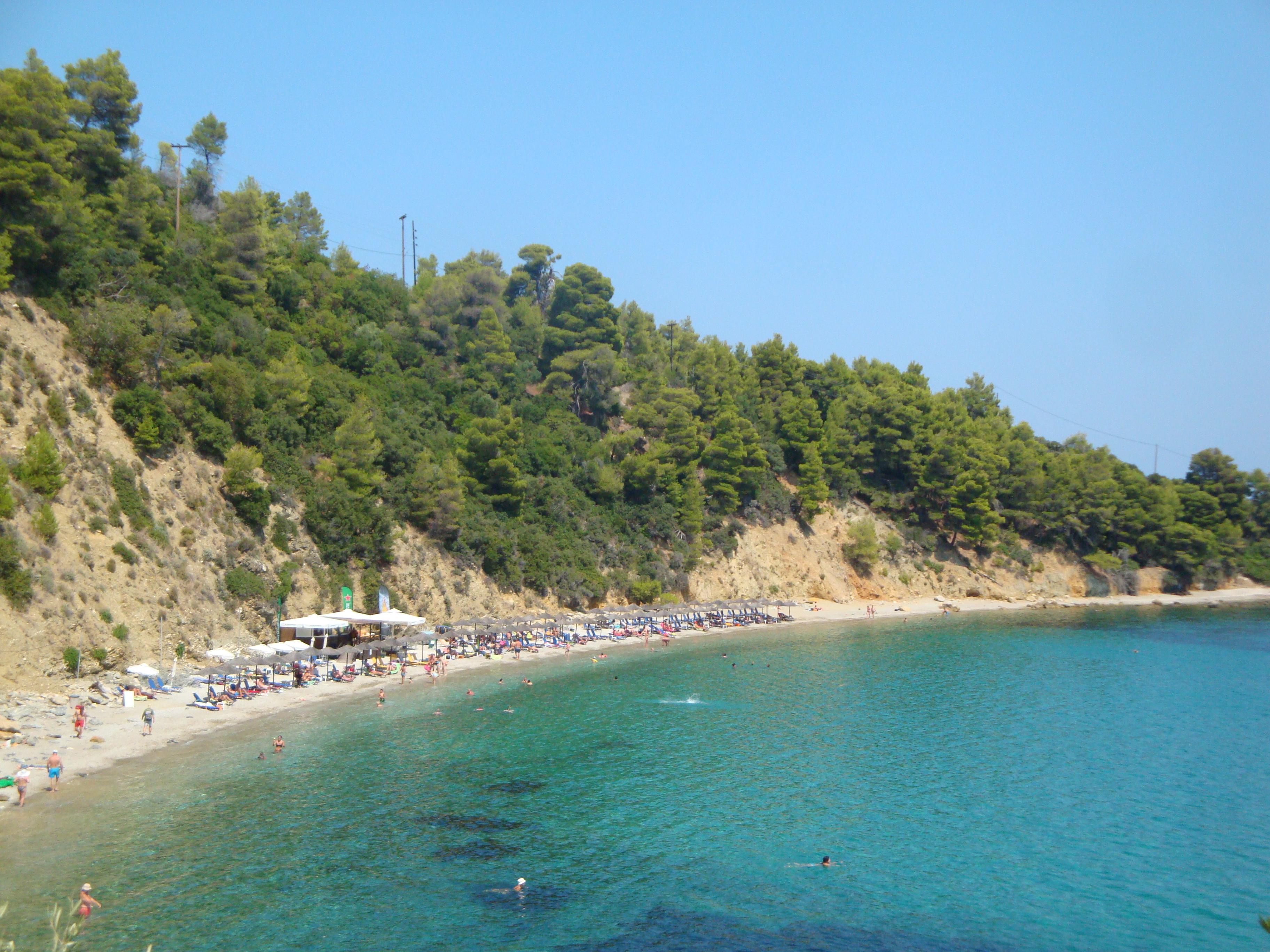 091. Пляж Стафилос, восточная часть -