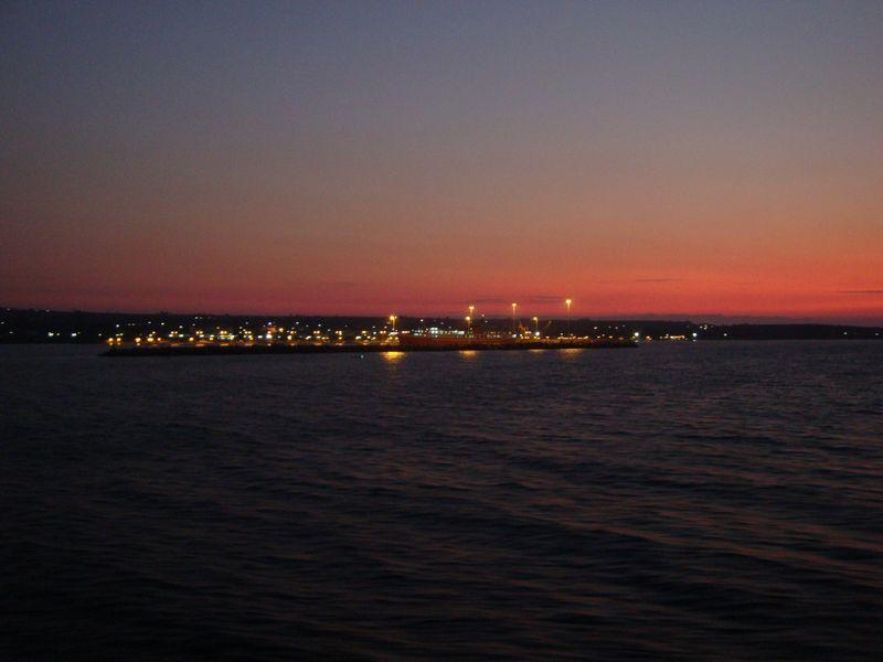 74. Большая суша - порт Килини