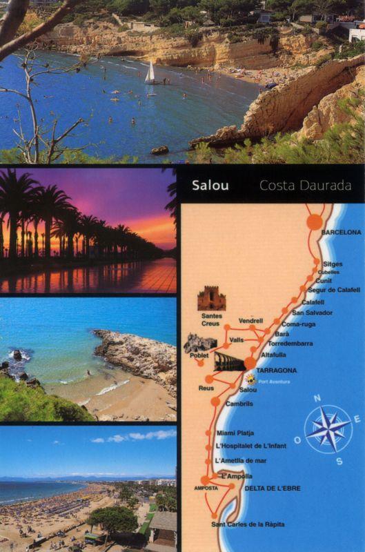 001. Salou. Costa Daurada - Городок на северо-востоке Испании, примерно в часе езды на поезде к югу от Барселоны