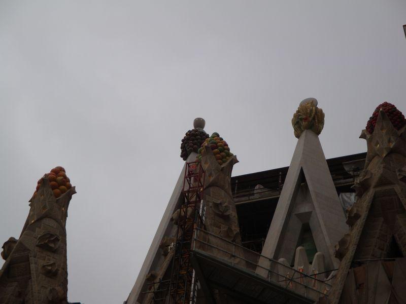 063. Маковки - Sagrada Familia, Барселона