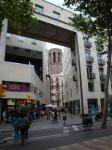 073. Старый город - Римские постройки рядом с современными зданиями, Барселона