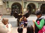 075. Еще одна живая статуя - Бульвар Рамбла, Барселона
