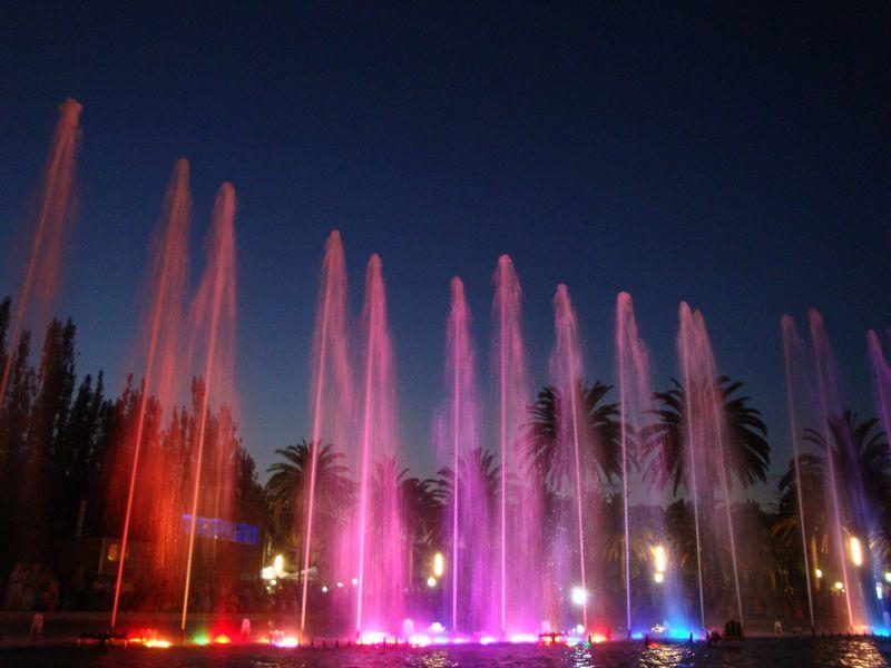 108. Поющие фонтаны в Salou -
