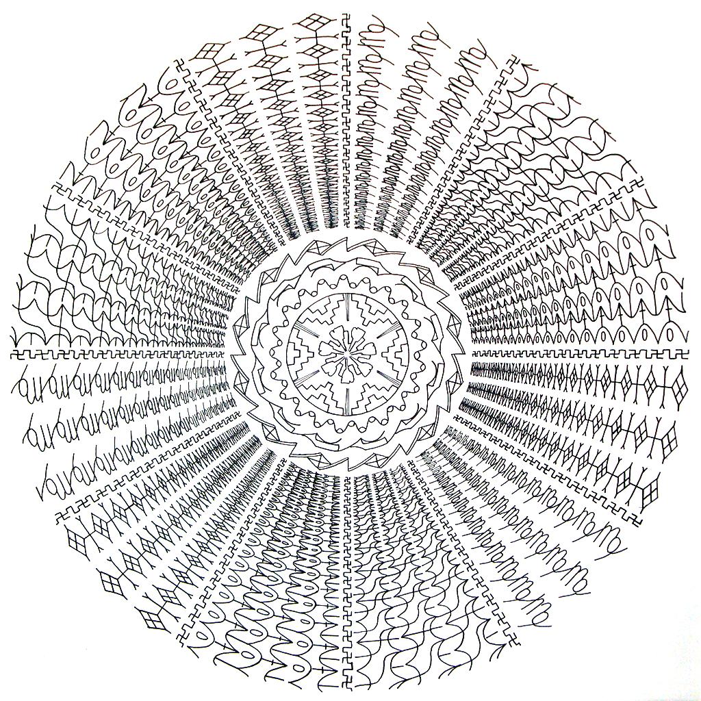 16. Структура космоса - 4 стихии: земля (в центре), вода, воздух и огонь расположенные по равностороннему треугольнику (по трину).