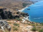 037. Ступеньки к Пальмовому пляжу в Превели (Πρέβελη) - Ступеньки – одно название, довольно долгий спуск вниз под открытым небом, зато вид ошеломляет!